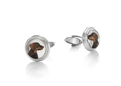 Hound Dogs Cuff Links