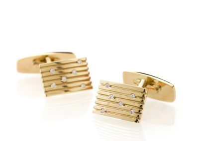Stripes Cuff Links