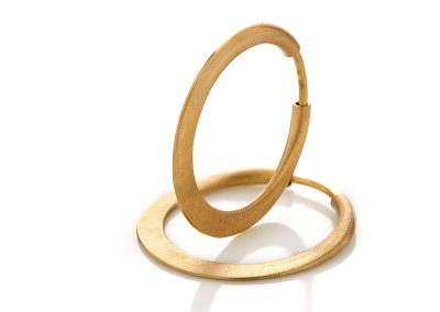 Golden Hoops Earrings