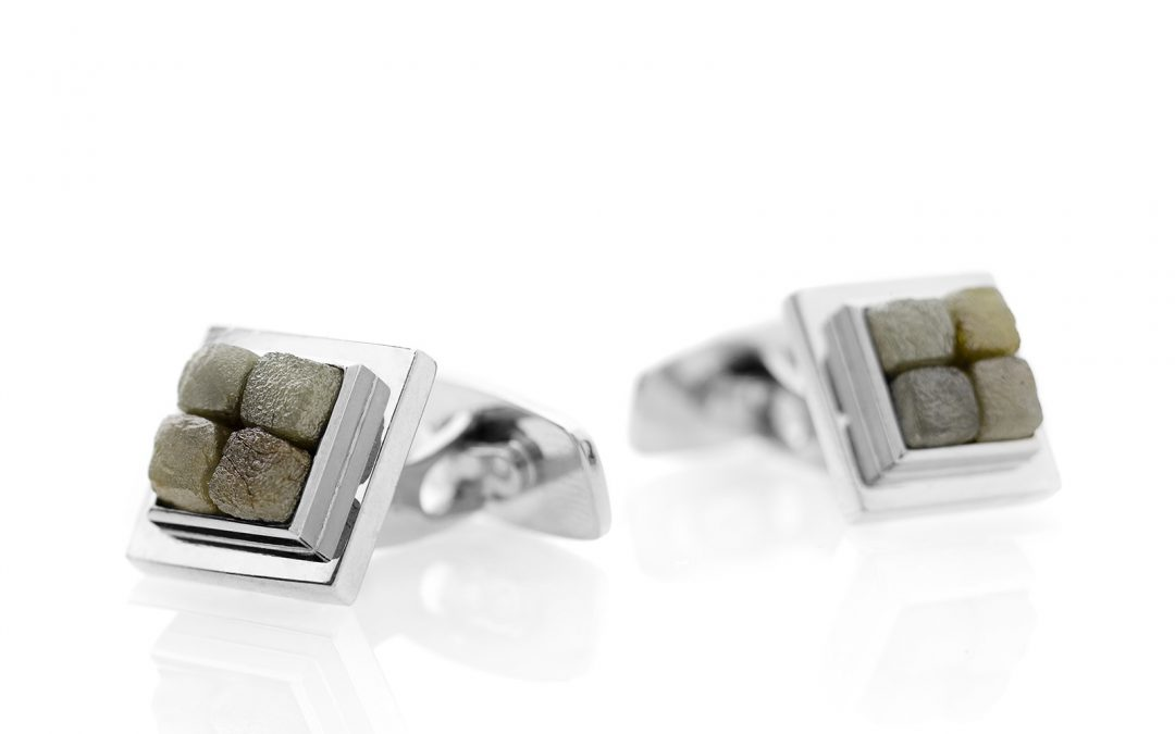 Sargasso Sea Cuff Links