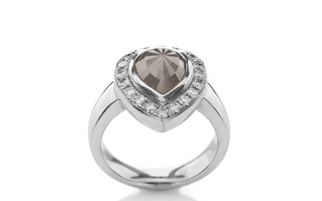 Bold Roughness Ring