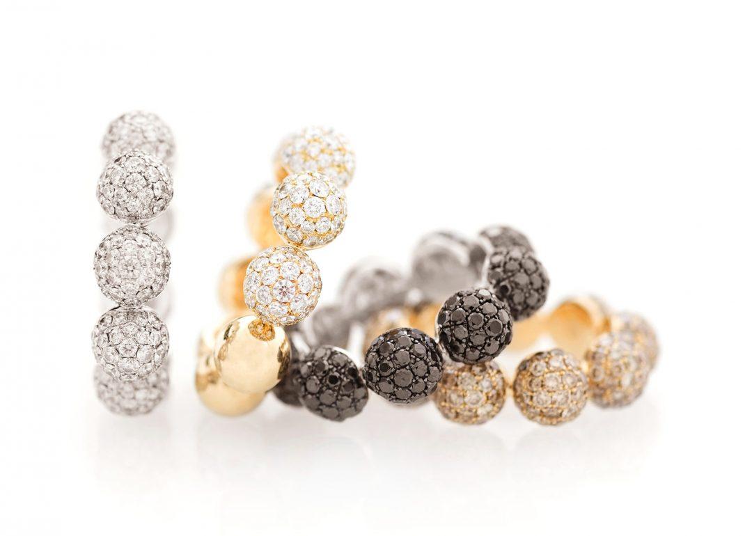Diamond Globes Ring