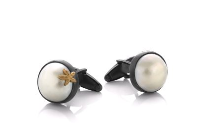 Star Shine Cuff Links