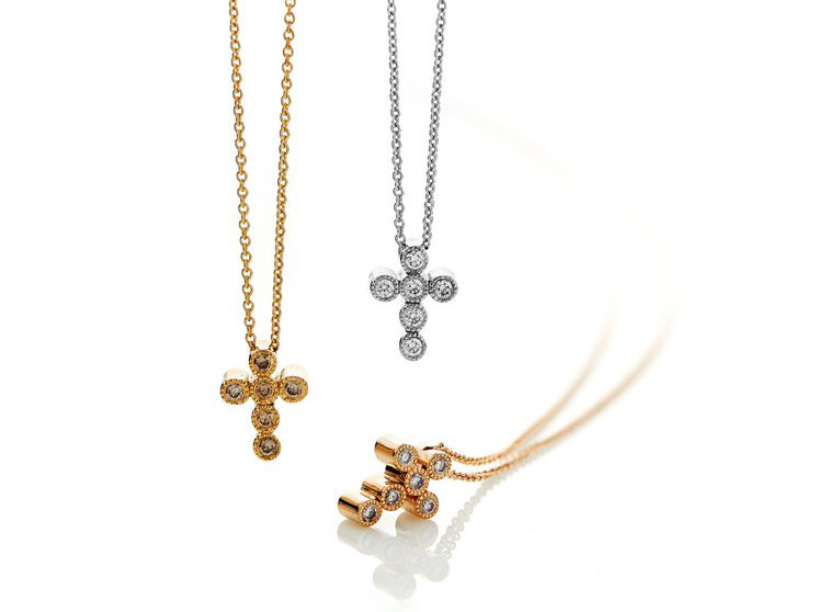 Cross My Heart Necklace