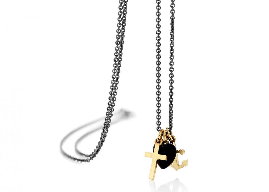 Faith, Hope & Charity Necklace
